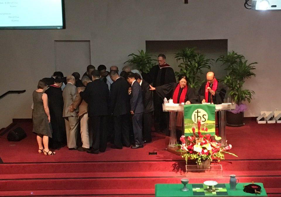 [사진] 창립 41주년 기념예배 및 임직예배