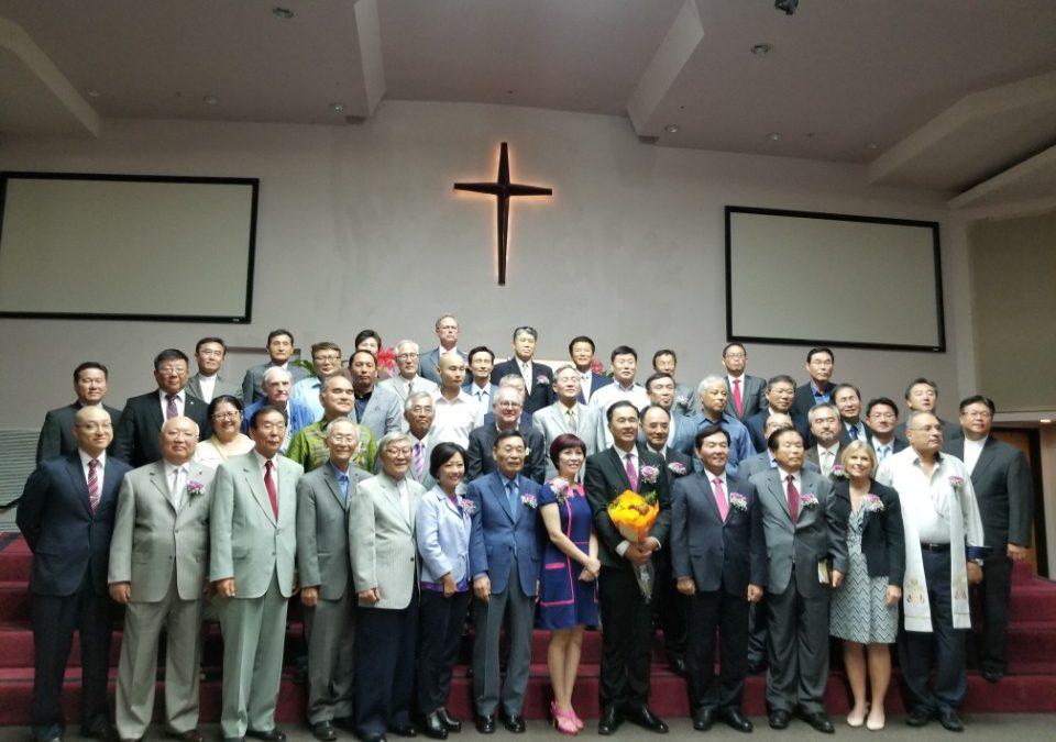 문일명 목사 위임예배 사진 모음